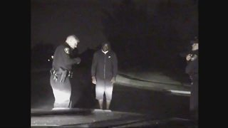 Robert Mathis' DUI arrest video shows a failed sobriety test, drowsiness - Video