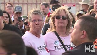 Hundreds gather to remember 1 October victims 6 months after shooting