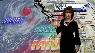 Near record warmth for southern Idaho Thursday ahead of rain, snow - Video