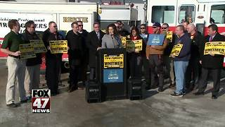 Mich Firefighters endorse Gretchen Whitmer - Video