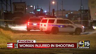 Police: Woman critically injured in Phoenix shooting - Video