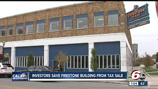 Investors save Firestone building from tax sale in Kokomo - Video