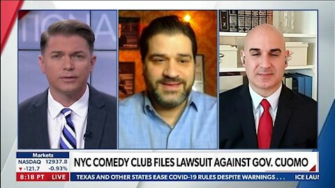 NYC COMEDY CLUB FILES LAW SUIT AGAINST GOV. CUOMO