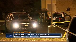 54-year-old man in critical condition following shooting on Milwaukee's northwest side - Video