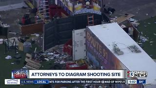 Attorneys to inspect, diagram site of 1 October shooting in Las Vegas