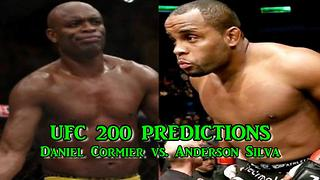 UFC 200 Daniel Cormier vs. Anderson Silva  Full Match  PREDICTIONS - Video
