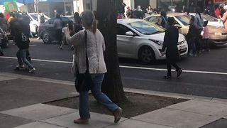 Protesters Stop Traffic During Second Day of Stephon Clark Demonstrations - Video