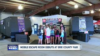 Mobile Escape Room Debuts at Erie County Fair - Video