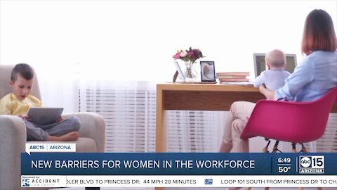 New barriers for women in the workforce