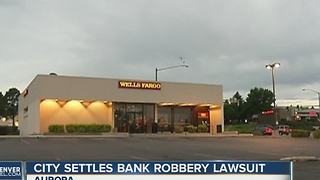 Aurora to pay $325,000 over traffic stop after bank robbery - Video