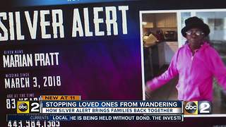 Stopping elderly from wondering and what a Silver Alert is - Video