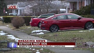 Search for gunman in deadly shooting