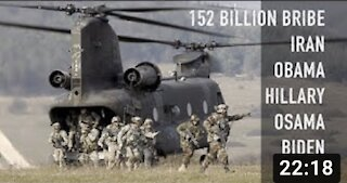 ?? The 152 billion extortion scheme: Iran, Obama, Biden and Seal Team 6: Whistleblower comes forward
