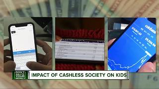 Impact of cashless society on kids - Video
