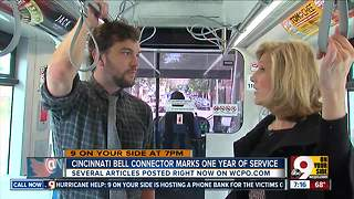 Cincinnati Bell Connector marks 1 year of service