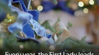 FB: Melania Decorates the White House for Christmas - Video