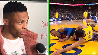Russell Westbrook Calls Zaza Pachulia a DIRTY Player for Intentionally Falling on His Leg