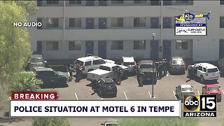 Police situation at Motel 6 in Tempe