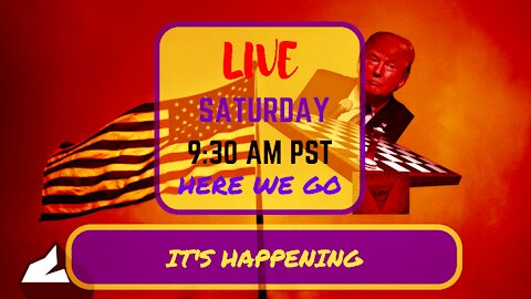 Saturday *LIVE*: It Is Indeed Happening Edition