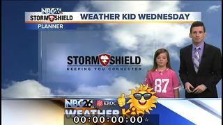 Meet Kiley Couillard, our Weather Kid of the Week - Video