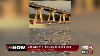 Body found in water in search for missing boater