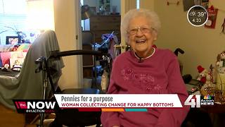 97-year-old raises money for babies in need - Video
