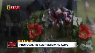 Proposal to keep veterans alive