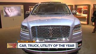 Top car, truck, utility announced at Detroit auto show
