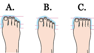 What Does The Shape Of Your Foot Say About Your Personality? - Video