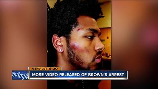 More body cam video released of Sterling Brown tasing incident - Video