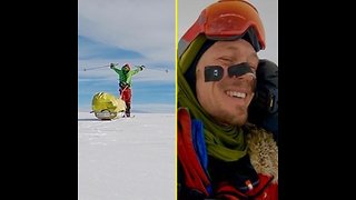 Colin O'Brady Is First Person to Cross Antarctica Solo