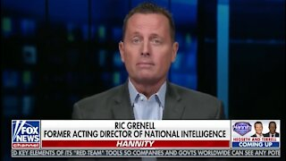 Ric Grenell Leaves Hannity Stunned With Bombshell on Dem's Chinese Spying Scandal