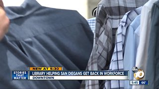 Central Library helping San Diegans get back into workforce