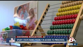 Study: State ranks poorly in access to preschool - Video