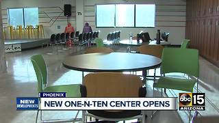 Phoenix nonprofit reopens after targeted by arson - Video