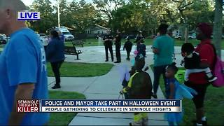 Trick-or-treating in Seminole Heights - Video