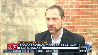 Book of Mormon tickets go on sale in Denver today - Video