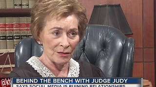 Judge Judy weighs in on social media - Video