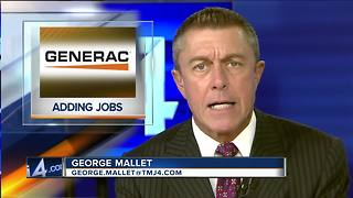 Generac to add 400 jobs in WI - Video