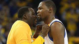 Kevin Durant SURPRISED Draymond Green