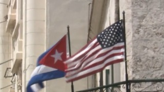 US urges no travel to Cuba, cuts embassy staff - Video
