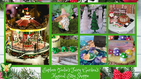 Explore Teelie's Fairy Garden's Magical Etsy Shoppe