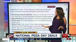 National Pizza Day Deals - Video