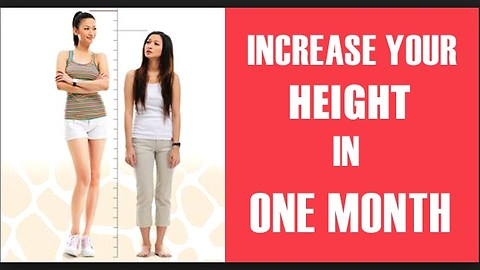 Exercises to grow taller fast and naturally