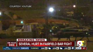 Fairfield nightclub fight: One person taken to hospital in medical helicopter - Video