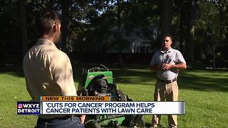 Cuts for Cancer: Metro Detroit business owners cut lawn for cancer patients - Video