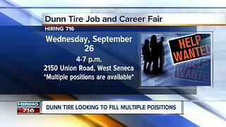 Dunn Tire Hiring Event - Video