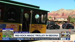 Deal of the Day: Score 50% off on Red Rock Magic Trolley tour in Sedona