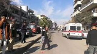 Several Killed in Homs Bus Bombing - Video