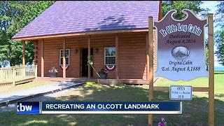Recreating a famous Olcott landmark - Video